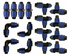 GartenKit Erweiterung 16x Verbinder (gemischt)